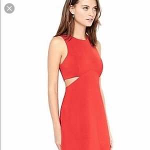 Red dress. Great for parties, weddings, night out